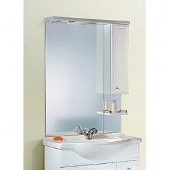 Мебель для ванной Aqwella Барселона Люкс 75 с бельевой корзиной