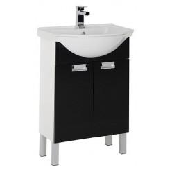 Мебель для ванной Aquanet Адель 60 черная