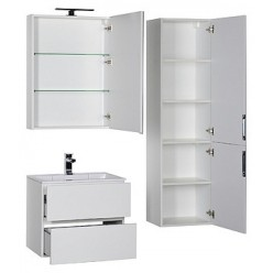 Мебель для ванной Aquanet Алвита 70 белая