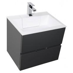 Мебель для ванной Aquanet Алвита 60 серый антрацит
