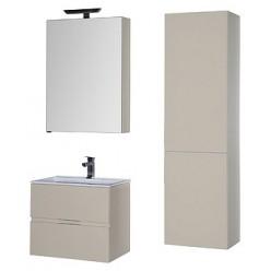 Мебель для ванной Aquanet Алвита 60 сливочная