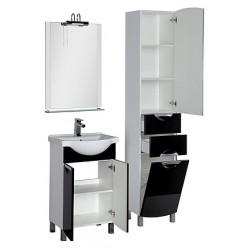Мебель для ванной Aquanet Асти 55 черная