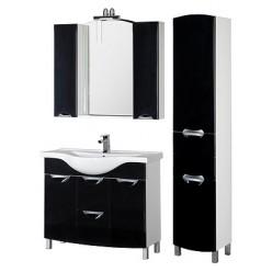 Мебель для ванной Aquanet Асти 105 черная