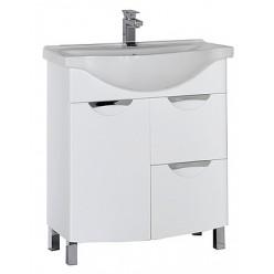 Мебель для ванной Aquanet Асти 75 белая