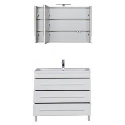 Мебель для ванной Aquanet Верона 100 белая