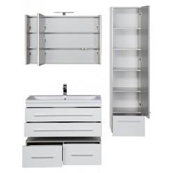 Мебель для ванной Aquanet Верона 100 подвесная белая