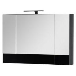Мебель для ванной Aquanet Верона 100 подвесная черная