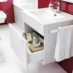 Мебель для ванной Aqwella Бриг 60 подвесная, сосна магия