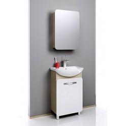 Мебель для ванной Aqwella Вега 55 дуб сонома