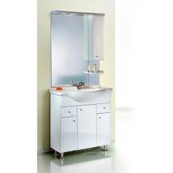 Мебель для ванной Aqwella Барселона Люкс 85
