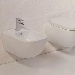 Биде подвесное Hidra Ceramica Dial белое
