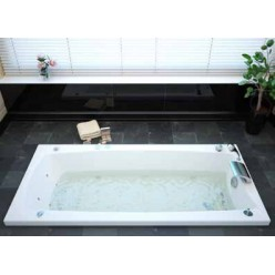 Акриловая гидромассажная ванна (форсунки Шампань) Кариба (Cariba) 170×75
