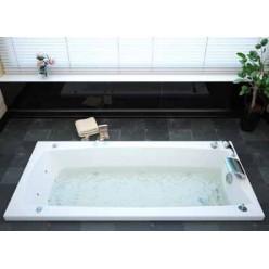 Акриловая гидромассажная ванна (форсунки Шампань) Вега (Vega) 190×100