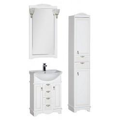 Шкаф-пенал Aquanet Луис белый