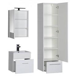 Шкаф-пенал Aquanet Нота белый