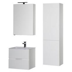 Зеркало-шкаф Aquanet Алвита 60 белый R