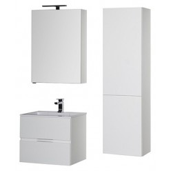 Зеркало-шкаф Aquanet Алвита 70 белый