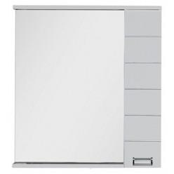 Зеркало-шкаф Aquanet Доминика 80 белый