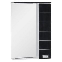 Зеркало-шкаф Aquanet Доминика 60 черный
