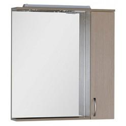 Зеркало-шкаф Aquanet Донна 80 светлый дуб