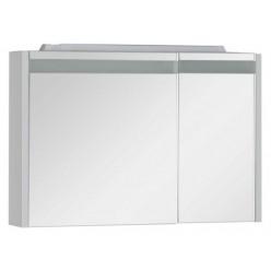 Зеркало-шкаф Aquanet Лайн 90 камерино L
