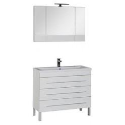Зеркало-шкаф Aquanet Верона 100 белый