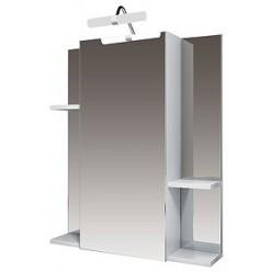 Зеркало-шкаф Triton Диана 65 L с полками
