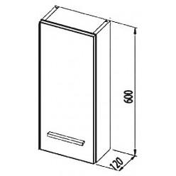 Шкаф Aquanet Данте 25 L