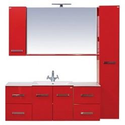 Шкаф Misty Атланта красный L