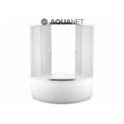 Шторка для ванны MALTA 150×150 прозрачная
