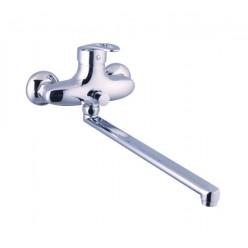"""""""Смарт-Гармония"""" смеситель для ванны/душа ,излив 350 мм,с аксессуарами,хром"""