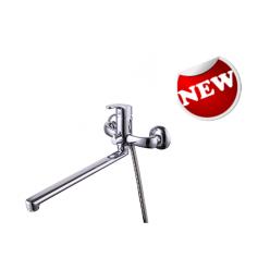 """""""Файн"""" смеситель для ванны, переключатель с керамическими пластинами, хром"""