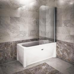 Душевое поворотное ограждение для прямоугольных ванн