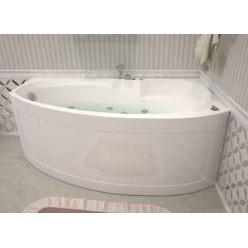 Акриловая гидромассажная ванна (форсунки Шампань) Джерси (Jersey) 170×90 левая