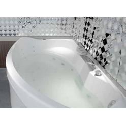 Акриловая гидромассажная ванна (форсунки Шампань) Ямайка (Jamaica) 160×100 правая