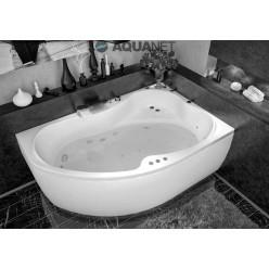 Акриловая гидромассажная ванна (форсунки Шампань) Капри (Capri) 170×110 правая