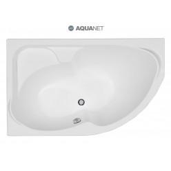 Акриловая гидромассажная ванна Грациоза (Graciosa) 150×90 левая