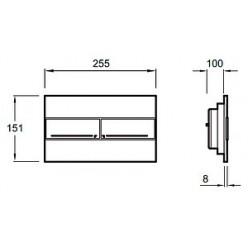 Комплект Jacob Delafon Escale E1306-00 E5504-NF-M11