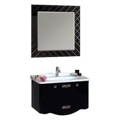 Зеркало Акватон Венеция 90 черное