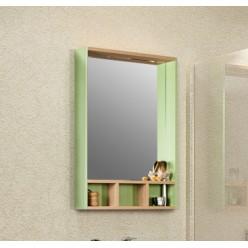 Зеркало Акватон Йорк 60 салатовый/дуб сонома