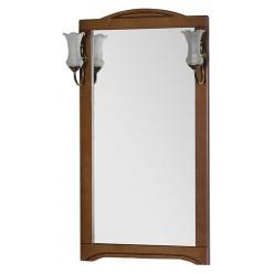 Зеркало Aquanet Луис 60 NEW темный орех