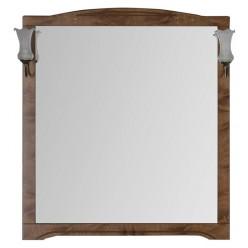 Зеркало Aquanet Луис 100 NEW темный орех