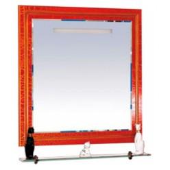 Зеркало Misty Fresko 90 красное краколет