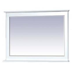Зеркало Misty Герда 100 с подсветкой, белая эмаль