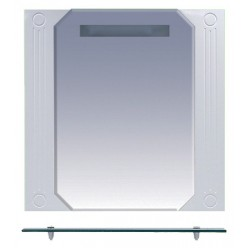 Зеркало Misty Виола 70 с полочкой и подсветкой