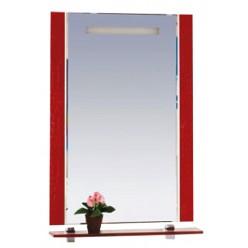 Зеркало Misty Гранд Lux 60 красная кожа croco