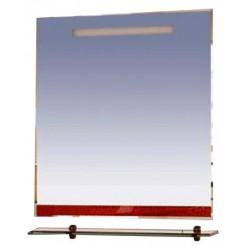 Зеркало Misty Джулия 75 красное краколет