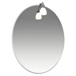 Зеркало Triton Лира 55 с подсветкой